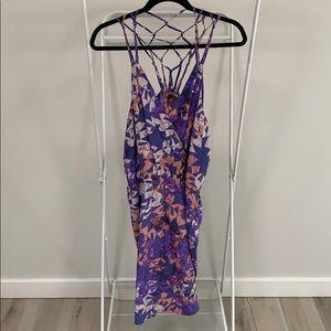 Charlie Jade Geometric Silk Dress